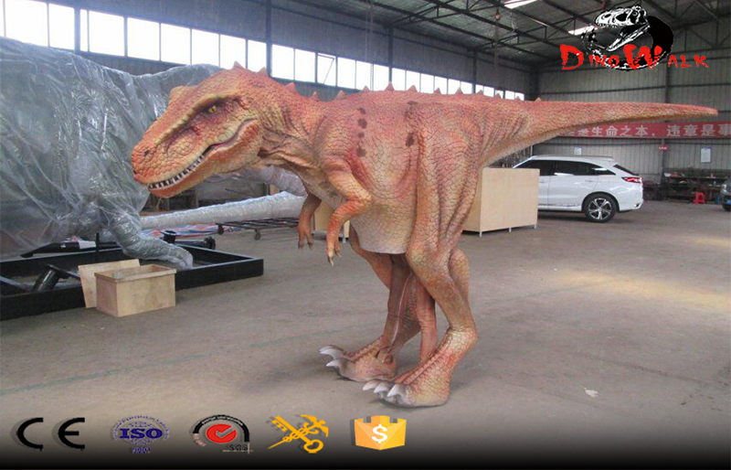 high quality walking with animatronic dinosaur suit