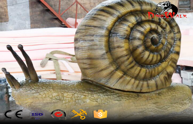 Simulation snail model for zoo