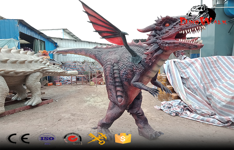 new design walking animatronic dinosaur costume