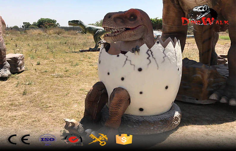 new design walking animatronic dinosaur egg costume