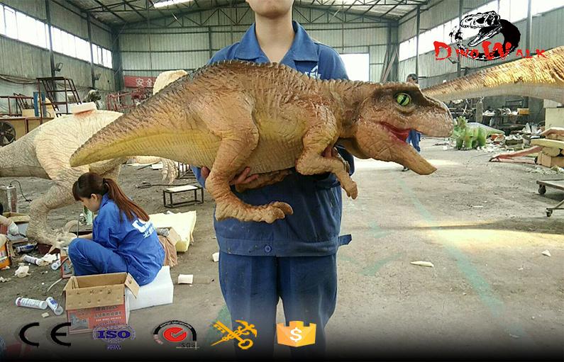 Dino Park Realistic Animal Animatronic Dinosaur Hand Puppets for Sale