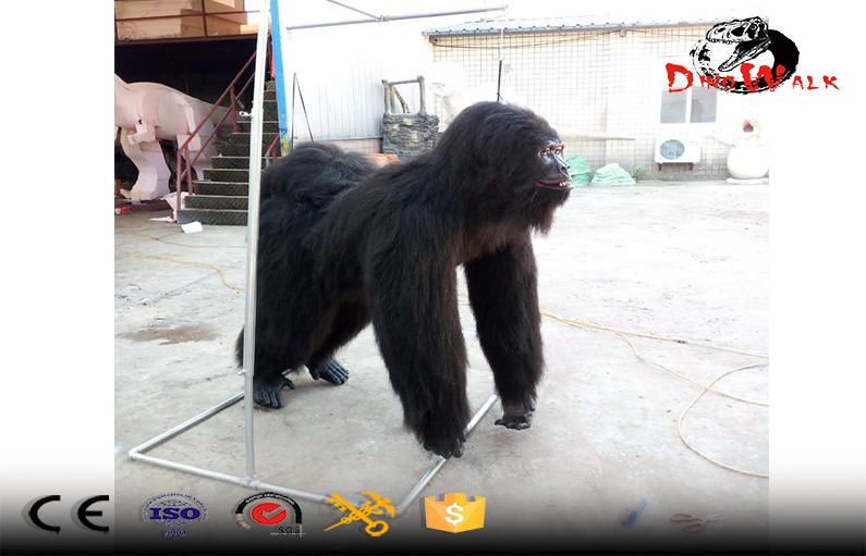 Halloween costume gorilla adult walking gorilla suit for show