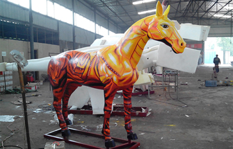 Customized Simulation Horses were Created by Our Designers for Our Cusomers