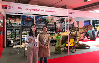 Dino Walk attended IAAPA Euro Amusement Attractions show in 2018