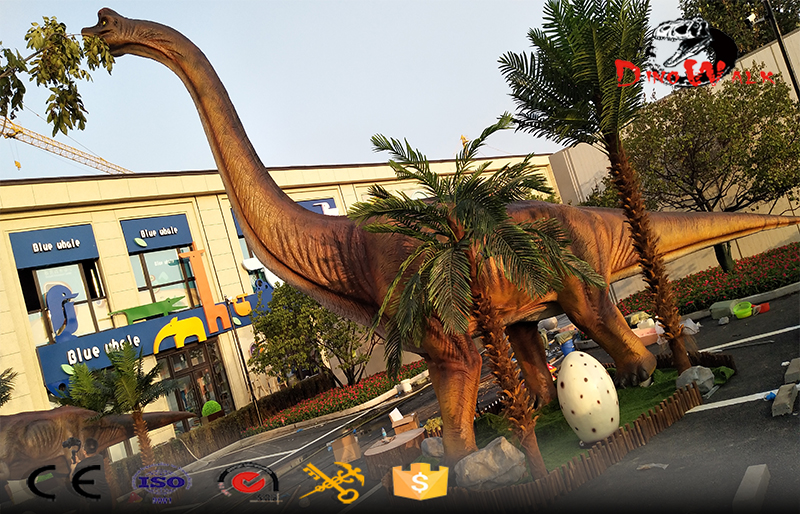 21m long animatronic dinosaur model for park