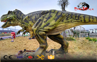 Difference Between Model Silicone Material And Glass Steel Of Simulated Dinosaur