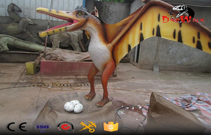 animatronic pterosaur dinosaur model for dino park