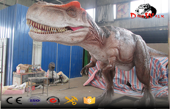 How Is The Large Dinosaur Model Of Commercial Exhibition Dynamics Made?