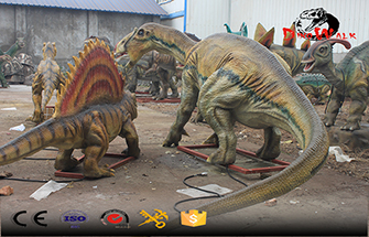 Issues to Note in Animated Dinosaur Exhibition