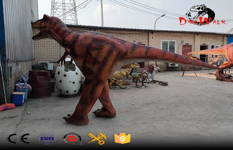 hidden legs light weight animatronic T-rex costume for show