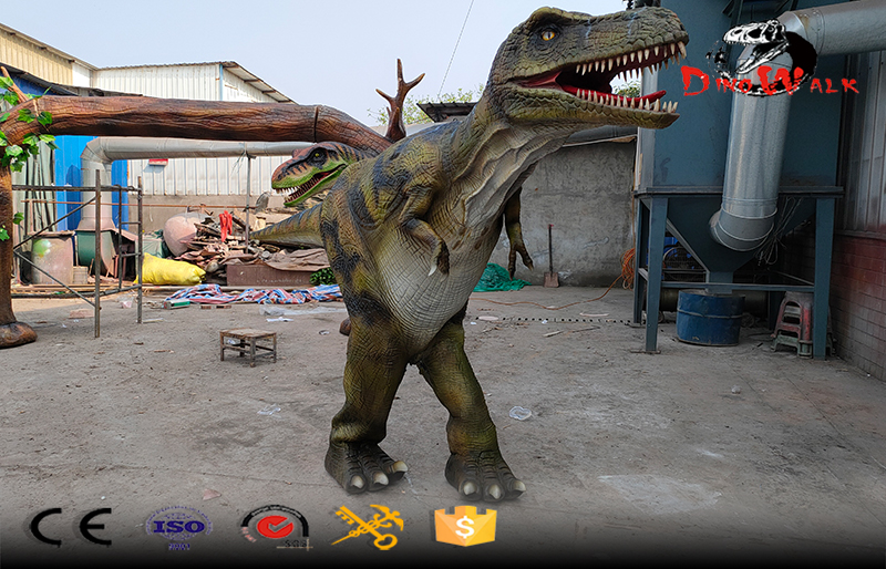hidden legs dinosaur suit with factory price