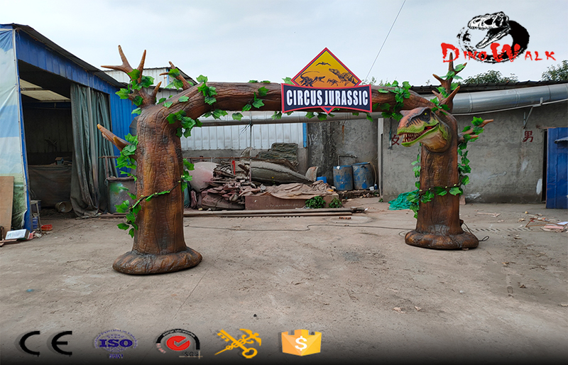 animatronic dinosaur door for dino park