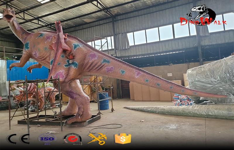 life size animatronic Plateosaurus dinosaur