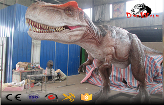 Repair and Refurbishment Method of Animatronic Dinosaur Model Skin Damage