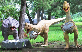 What Determines the Service Life of the Animatronic Dinosaur Simulation Model?