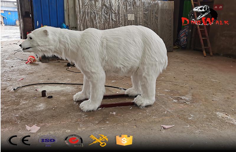 animatronic life size polar bear