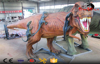 Tyrannosaurus Rex in Jurassic Park