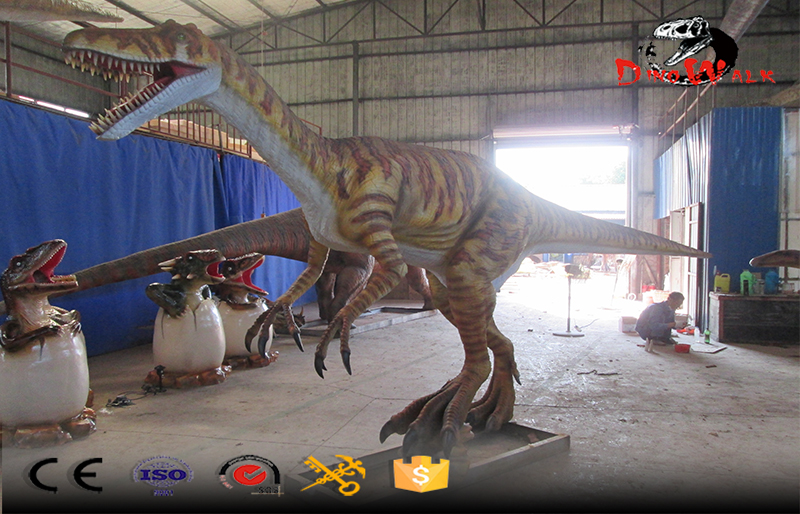 8m long animatronic Herrerasaurus dinosaur